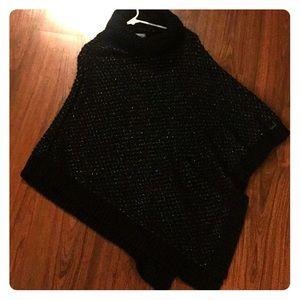 Calvin Klein poncho sweater